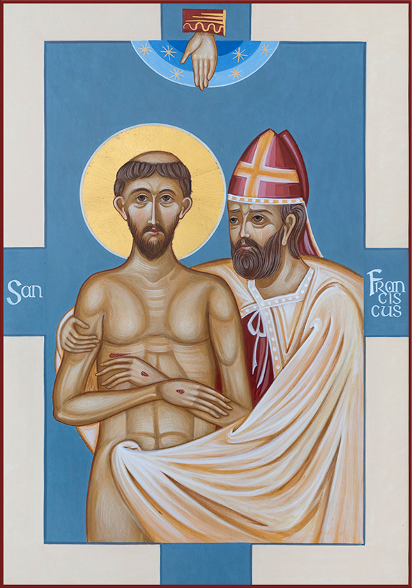 San Francesco - Spoliazione